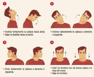 Ejercicios dolor de cuello