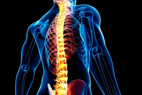 Problemas y enfermedades de la columna vertebral